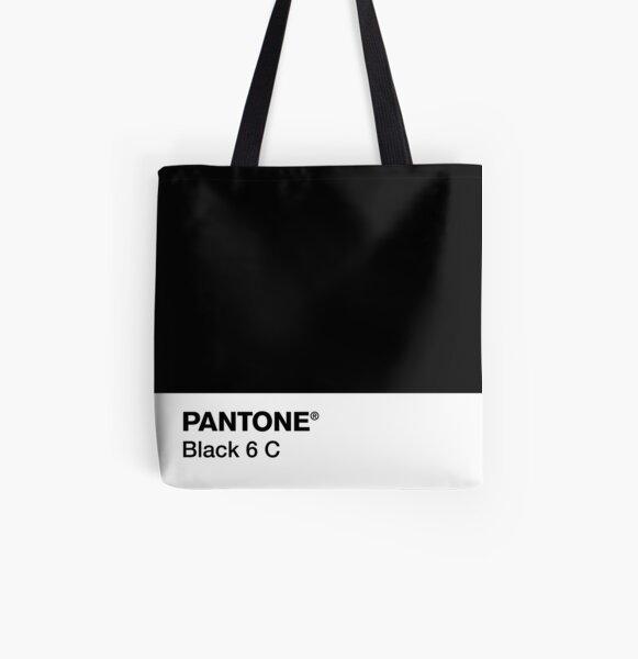 PANTONE BLACK 6 C All Over Print Tote Bag