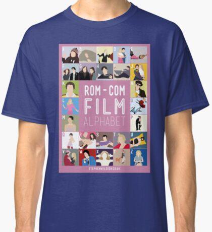 Rom Com Film Alphabet Classic T-Shirt