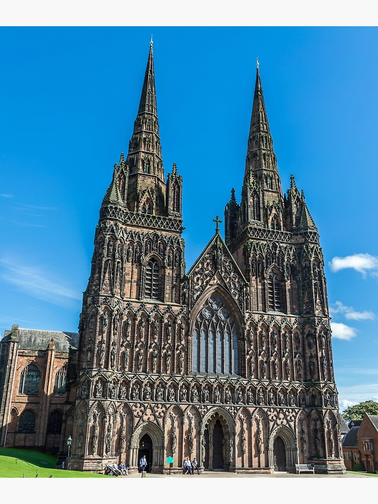 Lichfield Cathedral, Staffordshire by tdphotogifts