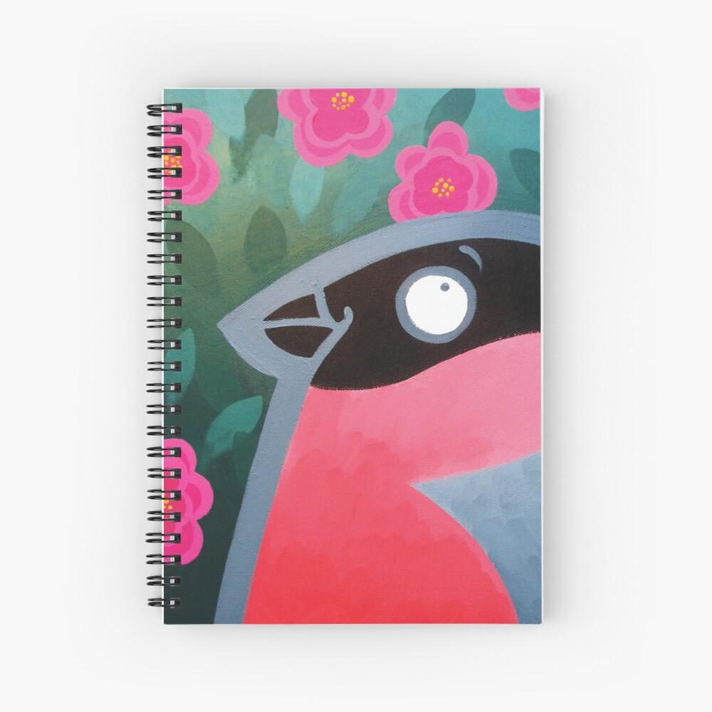 Bullfinch Spiral Notebook