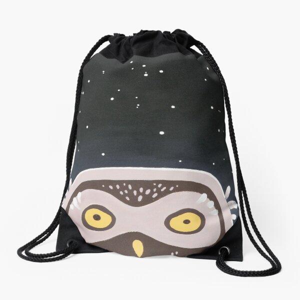 Little Owl Drawstring Bag