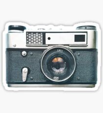 old film camera Sticker