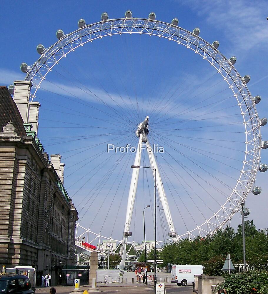 The London eye,  by Profo Folia