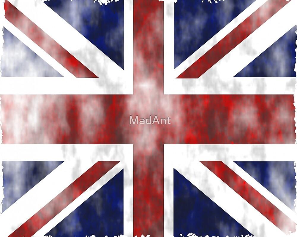 United Kingdom British flag by MadAnt