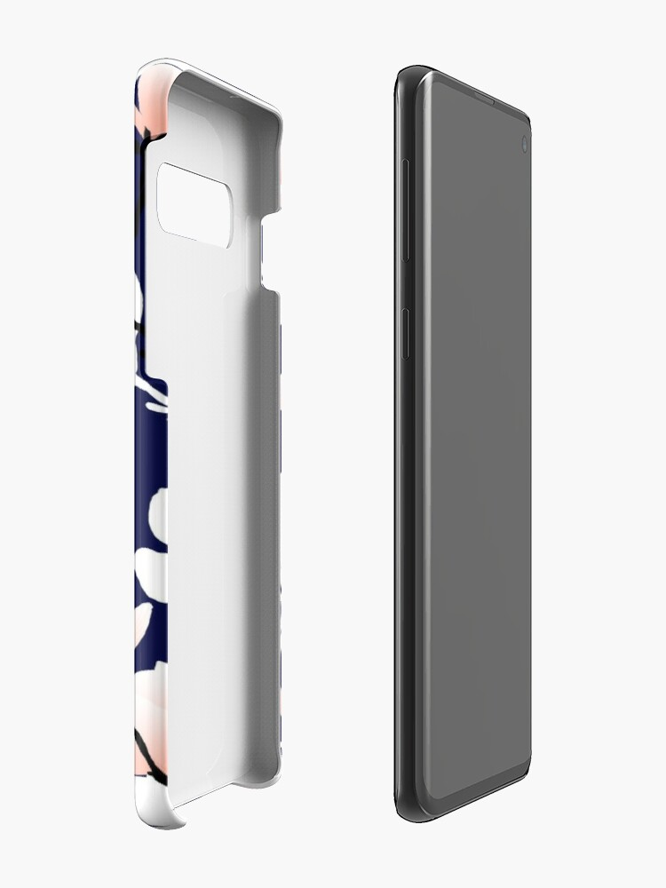 Alternate view of magnolia midnight Case & Skin for Samsung Galaxy