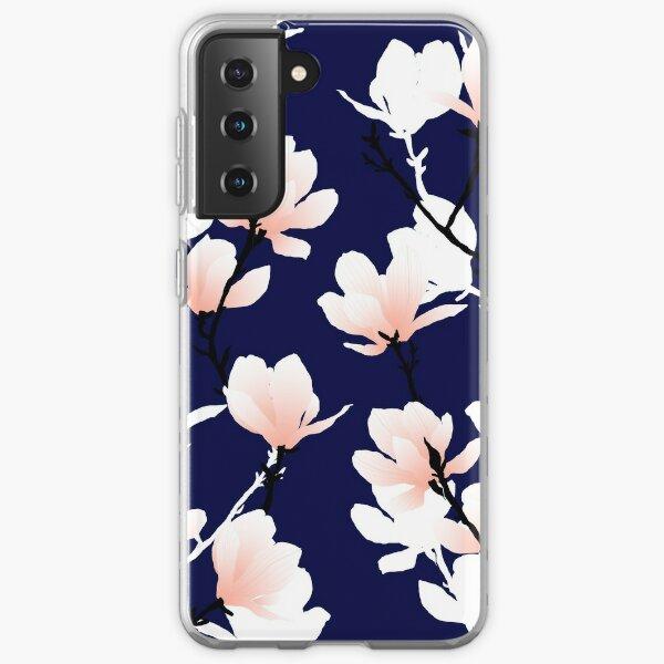 magnolia midnight Samsung Galaxy Soft Case