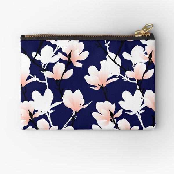 magnolia midnight Zipper Pouch