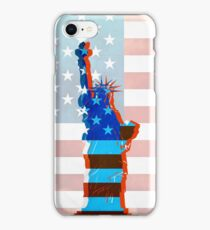 Statue of liberty / USA iPhone Case/Skin