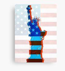 Statue of liberty / USA Canvas Print