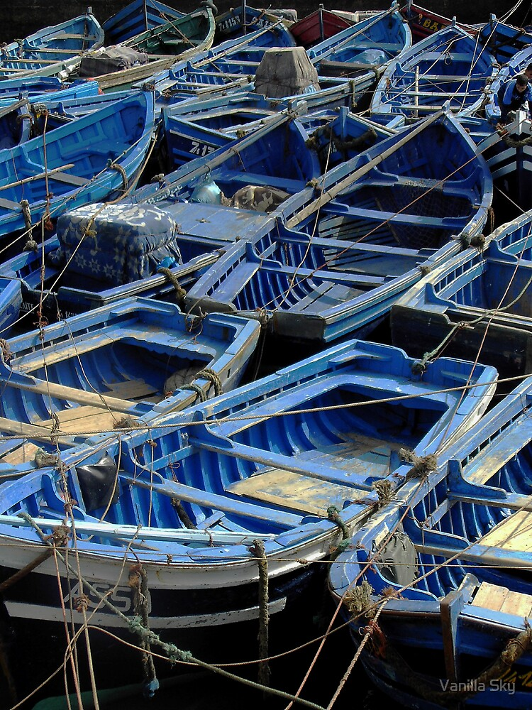 All the Blue Boats by Vanilla Sky