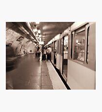 The Paris Metro Photographic Print