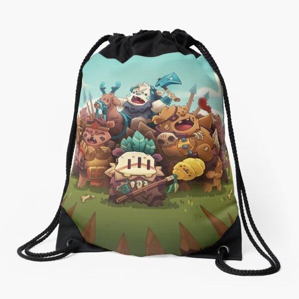 Barbarian: Battlegrounds (Cover Art) Drawstring Bag