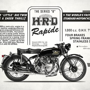 The Vintage Rapide Advertisement by rogue-design