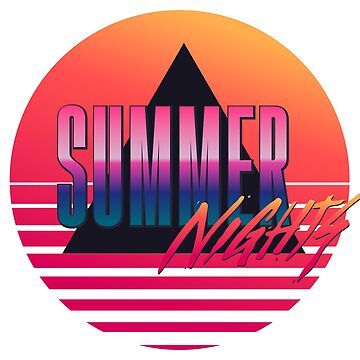 Summer Nights - Retrowave by made-for-you