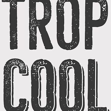 French Sentence So Cool - Grey by Chocodole