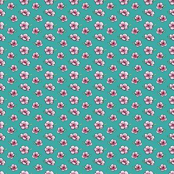 Patrón de Cherry Blossom de skinnyginny