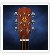 GUITAR HEADSTOCK ART - ALVAREZ REGENT Sticker