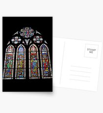 Church Window Postcards