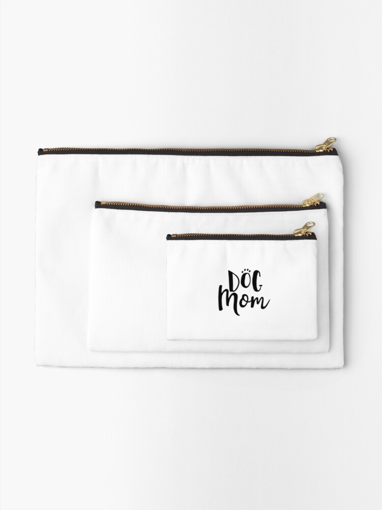 Alternate view of Proud Dog Mom Zipper Pouch