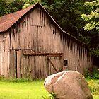 Cute Little Barn by Judy Seltenright