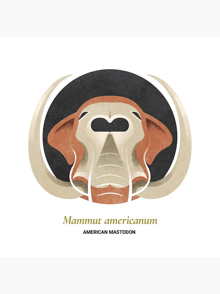 The Circles of Life: American Mastodon by franzanth