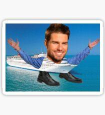 Cruisin' Tom Cruise Sticker