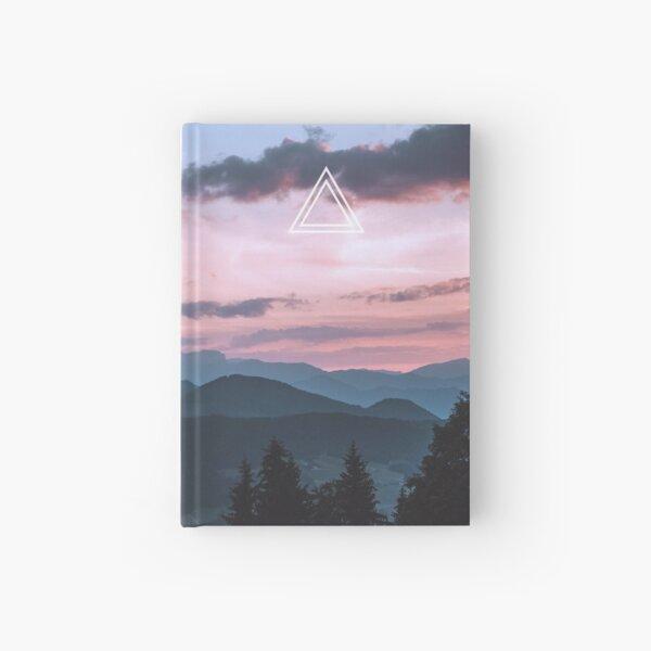 Minimalist Journal - Mountains at Dawn Hardcover Journal