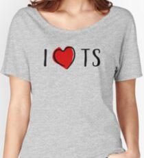 I Heart TS T Shirt Women's Relaxed Fit T-Shirt