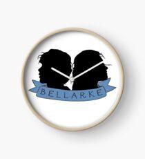 Bellarke Silhouette Clock