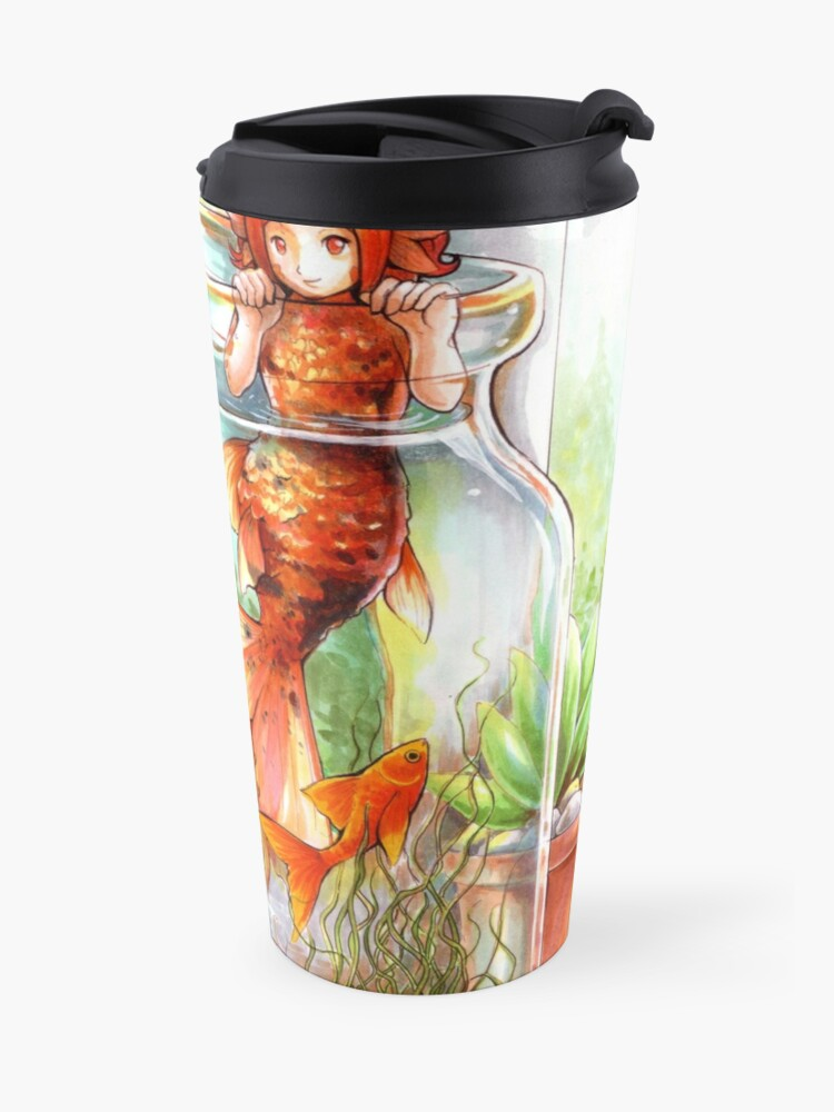 Alternate view of Through the water glass Travel Mug