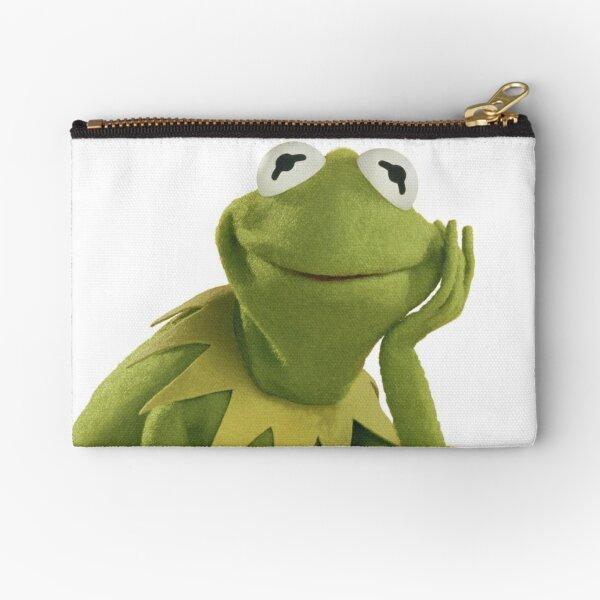 Kermit The Frog Zipper Pouch