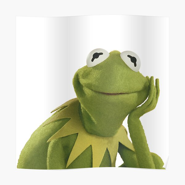 Kermit la rana Póster