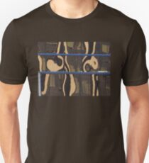 County Courthouse swirls justice in reflection T-Shirt