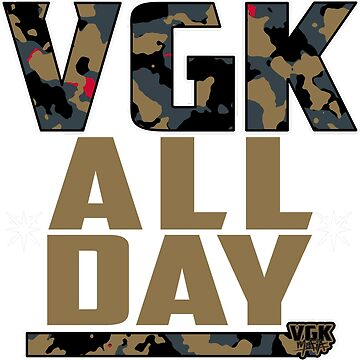 ALL-DAY: camo/gold on black by VGKmafia
