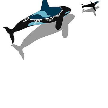 killer whale hunt by albertocubatas