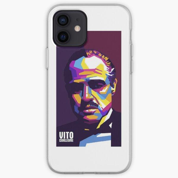 Le Parrain Vito Corleone Coque souple iPhone