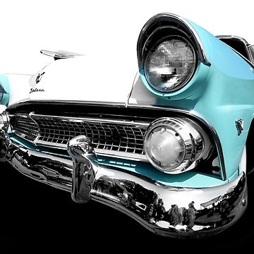 1955 Ford Fairlane - high contrast by mal-photography