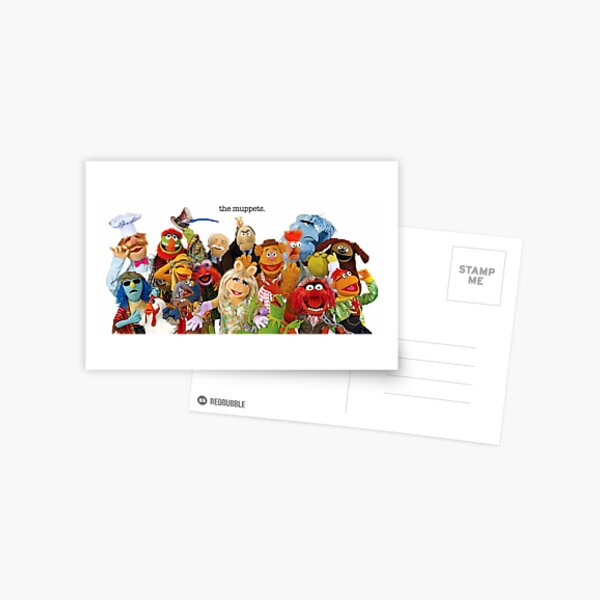 The Muppets Postcard