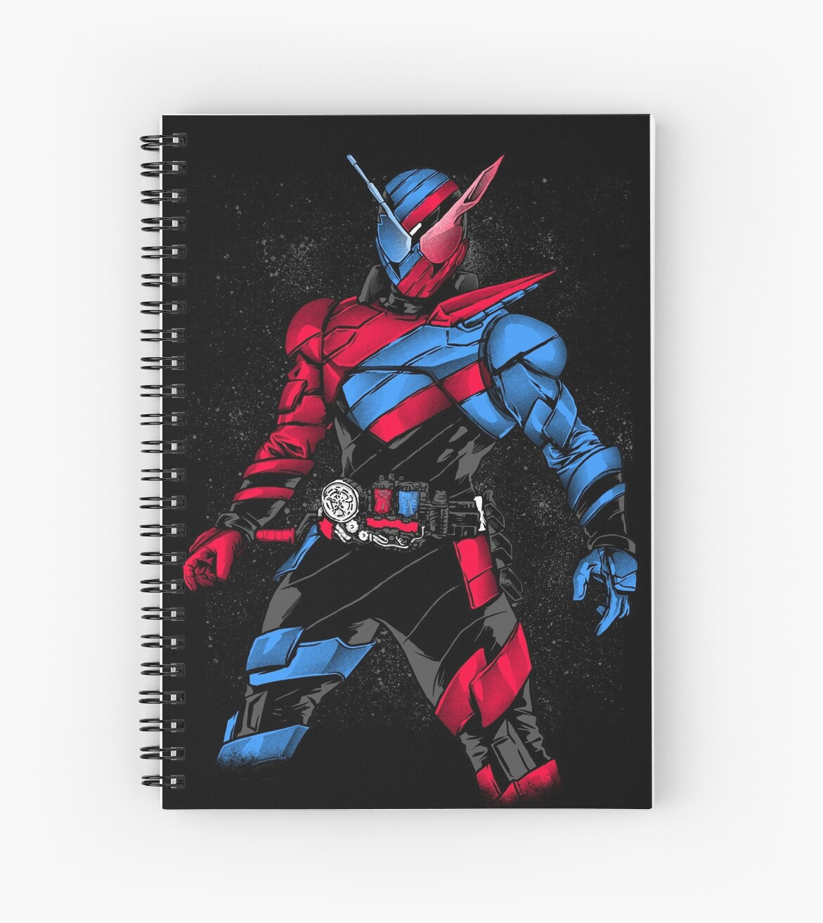 Kamen Rider Build Spiral Notebooks By Redcolourmerah Redbubble