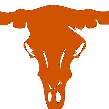 Longhorn Skull   Texas by CollegeTown