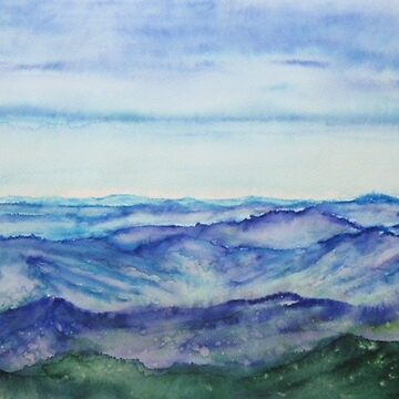 White Mountains Looking South by chriskfouryart
