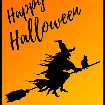Halloween Witch Shirt - Happy Halloween by Sleazoid