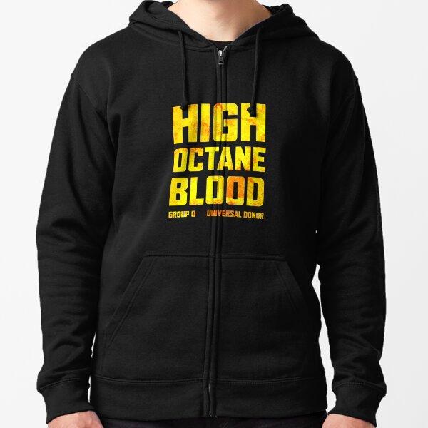 Mad Max Fury Road High Octane Blood Zipped Hoodie