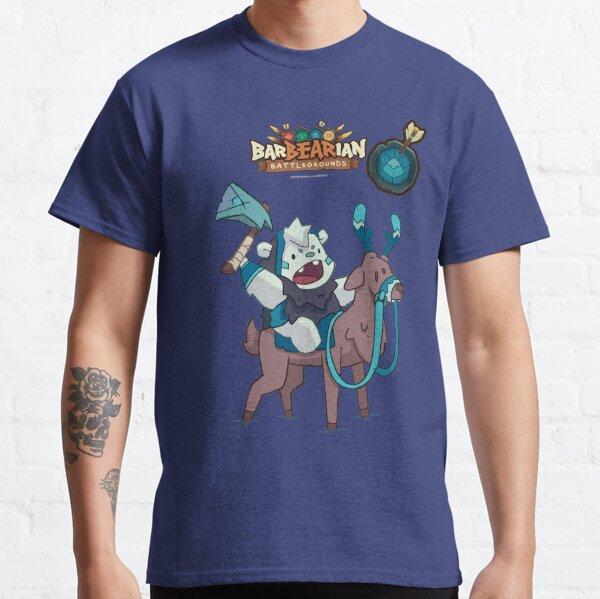 Barbarian: Battlegrounds (Blue Clan: Reindeer Bear) Classic T-Shirt