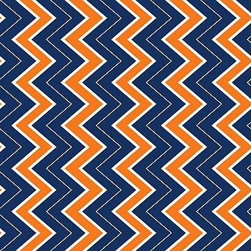 Auburn | Horizontal Chevron by CollegeTown