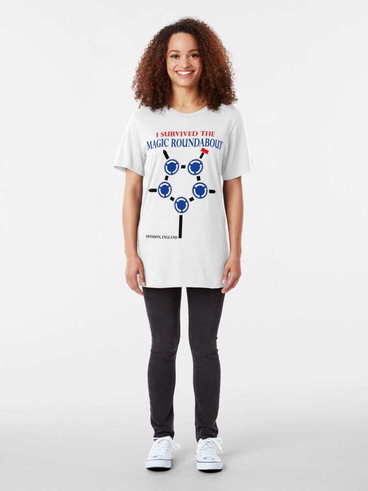 Alternate view of The Magic Roundabout Slim Fit T-Shirt