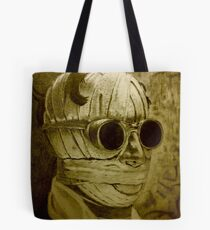 The Invisible Man in sepia Tote Bag