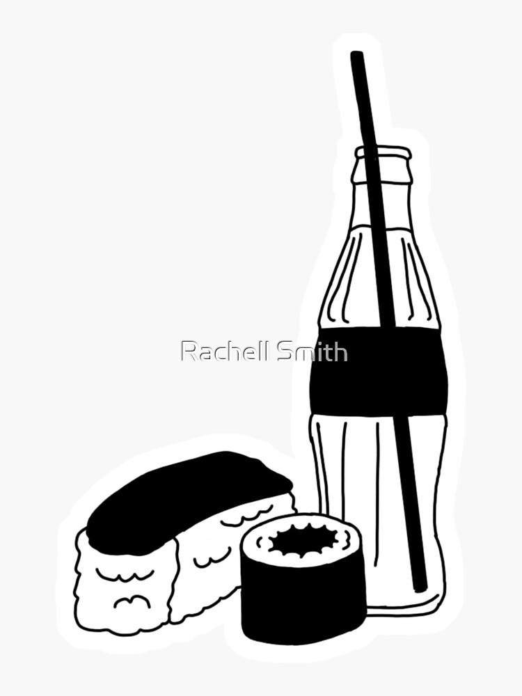 Sushi & Soda by Raccoon-god