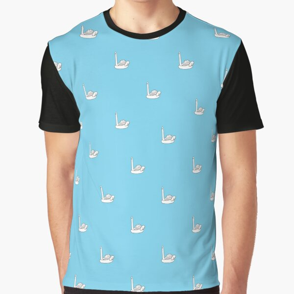 Ridiculous Inflatable Swan Thing Graphic T-Shirt