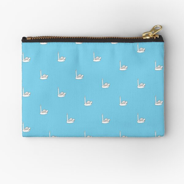 Ridiculous Inflatable Swan Thing Zipper Pouch